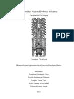 Monografía de Psicología Clínica