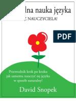 David Snopek - Naturalna nauka języka (V1)