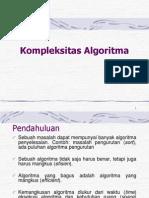 Kompleksitas Algoritma (Minggu 2)