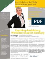 International Leadership Programm Broschüre