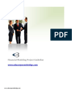 Corporate Bridge - Financial Modeling General Guidelines - Information Technology