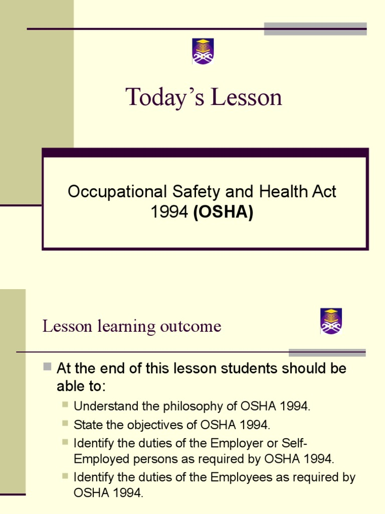 Chapter 14 Osha 1994 Construction Safety Occupational Safety And Health Safety