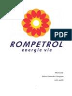 Plan Afaceri Rompetrol