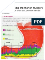 Are We Losing The War on Hunger? By Ricardo Saludo