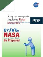Plan de emergencia de la NASA 2012 - Español