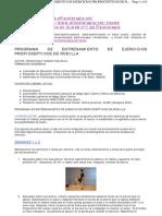 Programa Ejercicios Propiocepcion Rodilla