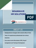 Brainwave HR Solutions -PPT