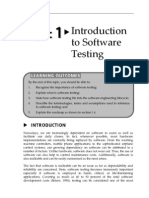 Topic 1 Introduction to Software Testing