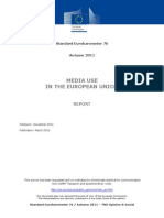 EU - Media Use in the European Union Standard Euro Barometer 76