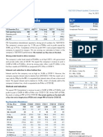 ITD Cement at Ion India Result Updated