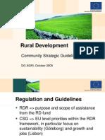 Dezvoltare rurala UE