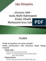 Fluida Dinamis Fisika