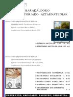 Barakaldoko aurrehistoriako aztarnategiak - Yacimientos prehistóricos de Barakaldo