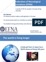 6th Patients' Rights Day - Amanda Worpole, European Federation of Neurological Associations