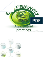 Eco Friendly Agricultural Practices