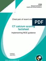 CT Calcium Scoring