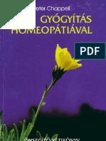 Peter Chappel - Lelki gyógyítás homeopátiával