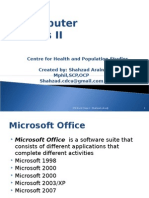 Expert in Ms Office