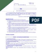 2006 - Planificación ECONOMíA