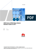 3900 Series SRAN Base Station Solution Guide of 2011 V1.1(20110630)