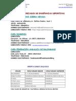 OFERTA E. DEPORTIVAS 2012-2013
