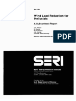 Wind Load Reduction