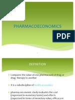 Pharmacoeconomics Ppt