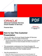 Exadata V2 Services Customer Facing 121709