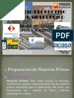 proceso productivo siderurgico
