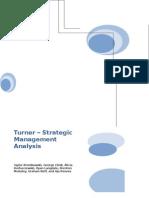 Turner Strategic Analysis