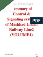 Summary of Control & Signaling Line2 (VOLUME1)