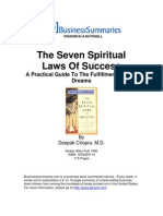 The Seven Spiritual Laws of Success BIZ