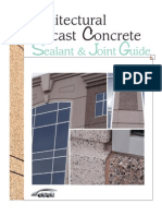 Architectural Precast Concrete Sealant and Joint Guide