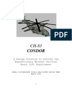 Heavy Lift Helicopter Design