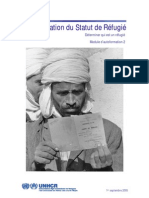 Détermination du statut de réfugié