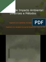 Avaliação de Impacto Ambiental - Saúde Ambiental