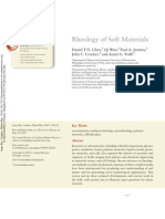Rheology of Soft Materials