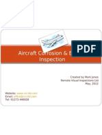 Aircraft Corrosion & Engine Inspection