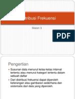 Distribusi Frekuensi Stat Das