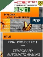 Presentation Final Project Dka 2011