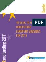 European Subsidies Guide En