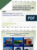 Akta Kualiti Alam Sekitar (Buangan Terjadual