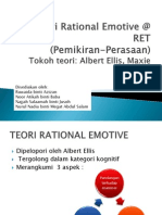 Teori Rational Emotive @ RET