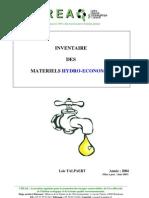 Technologie Materiels Hydro Economes