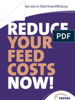 TOPIGS Reduce Feed Costs Now