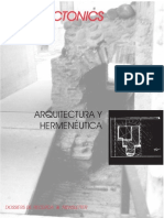 Arquitectonics+4+ +Arquitectura+y+Hermeneutica