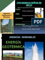 Energia Geotermica - Cultura Ambiental - Solansh Kiara Alberca Tocto & Miguel Angel Huanca Vasquez
