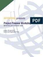 Project Finance @Lisbon