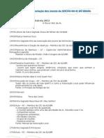 PNE 2012 - Programa