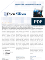 Open Silicon Pakistan Brochure